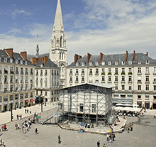 Oeuvre Hôtel Nantes de Tatzu Nishi